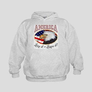 America - Love it or Leave it! Kids Hoodie