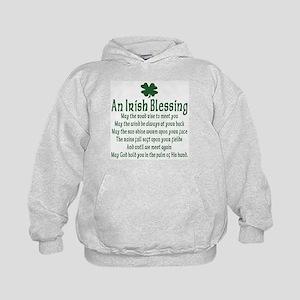 Irish Blessing Kids Hoodie