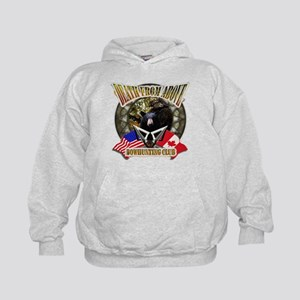 death from above bow hunting Kids Hoodie