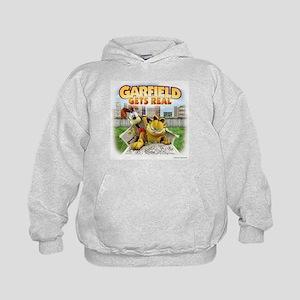 Garfield Gets Real Kids Hoodie
