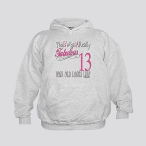 13th Birthday Kids Hoodie Sweatshirt