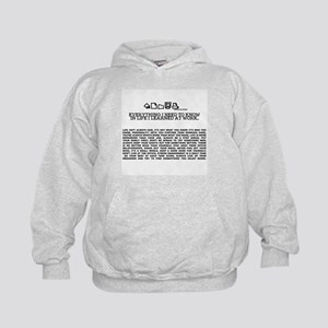 EVERYTHING I NEED TOKNOW IN LIFE-WORK Kids Hoodie
