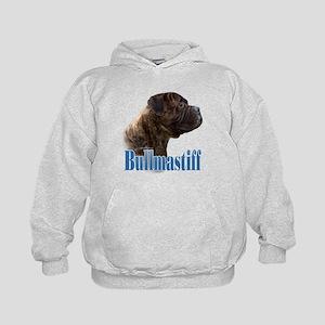 Bullmastiff(brindle)Name Kids Hoodie