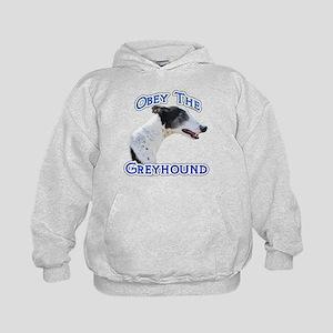 GreyhoundObey Kids Hoodie