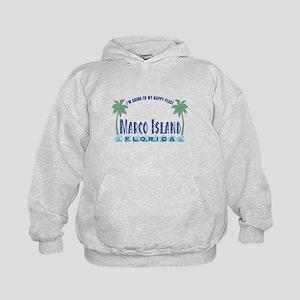 Marco Island Happy Place - Kids Hoodie