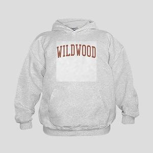 Wildwood New Jersey NJ Red Kids Hoodie