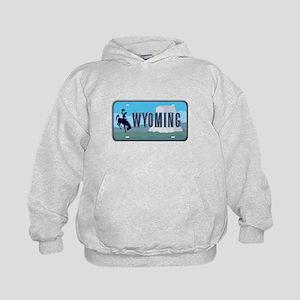 Wyoming Kids Hoodie