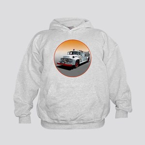 The Big Job Firetruck Kids Hoodie