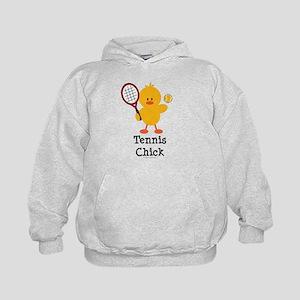 Tennis Chick Kids Hoodie