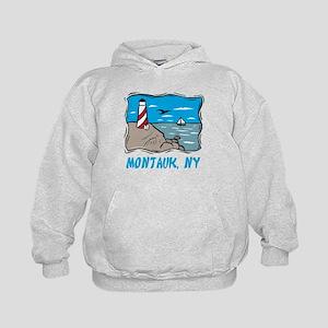 Montauk, NY Kids Hoodie