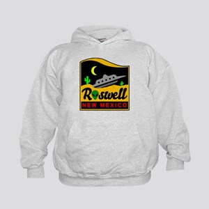 Roswell New Mexico Kids Hoodie