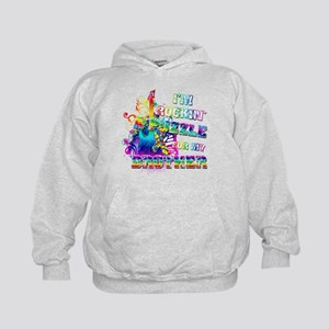 I'm Rockin' A Puzzle for my Brother Kids Hoodie