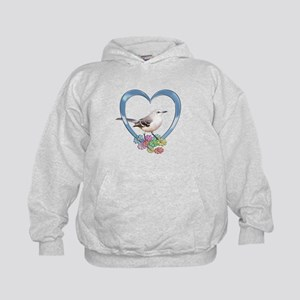 Mockingbird in Heart Kids Hoodie