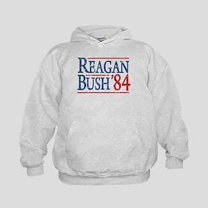 Reagan Bush 84 retro Kids Hoodie