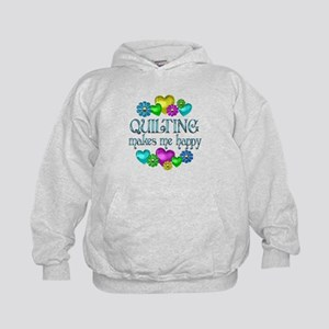 Quilting Happiness Kids Hoodie