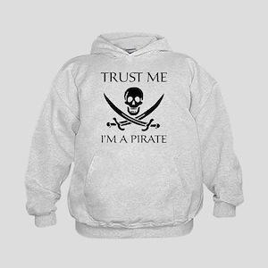 Trust Me I'm a Pirate Kids Hoodie