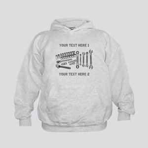 Wrenches with Text. Kids Hoodie