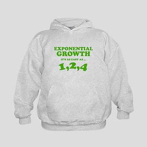 Exponential Growth Kids Hoodie