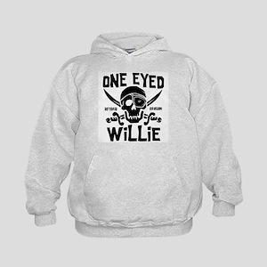 One Eyed Willie Kids Hoodie