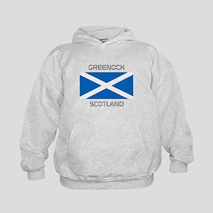Greenock Scotland Kids Hoodie