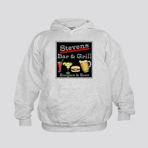 Personalized Bar and Grill Kids Hoodie