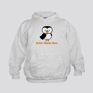 Personalized Puffin Kids Hoodie