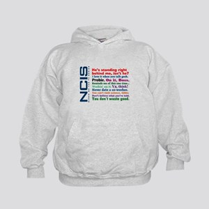 NCIS Quotes Kids Hoodie