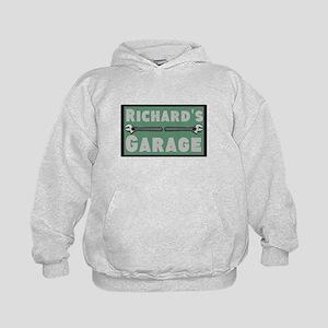 Personalized Garage Kids Hoodie