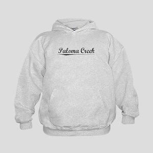 Paloma Creek, Vintage Kids Hoodie