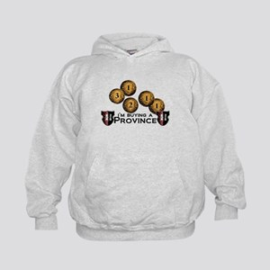 I'm buying a province. Kids Hoodie