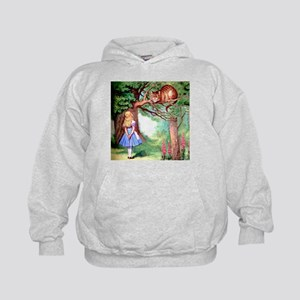 Alice and the Cheshire Cat Kids Hoodie