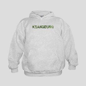 Keansburg, Vintage Camo, Kids Hoodie
