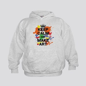 Keep Calm and Make Art Sweatshirt