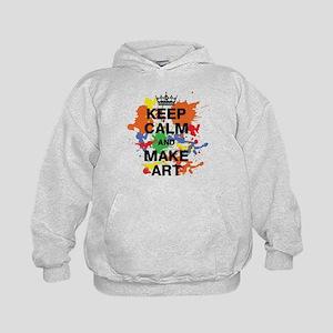 Keep Calm and Make Art Sweatshirt