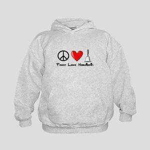 Peace, Love, Handbells Hoodie