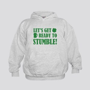 Let's get ready to stumble! Kids Hoodie