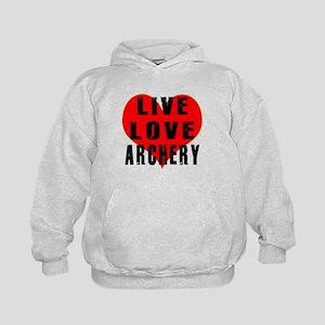 Live Love Archery Kids Hoodie