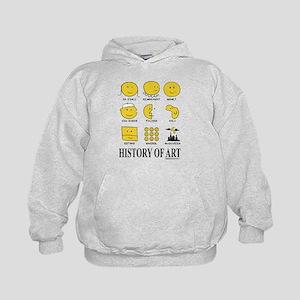 History Of Art By Smiley - Kids Hoodie Sweatshirt
