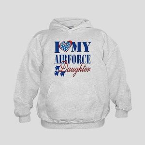 I Love My Airforce Daughter Hoodie