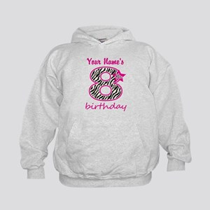 8th Birthday - Personalized Hoodie
