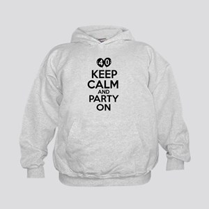 Funny 40 year old gift ideas Kids Hoodie