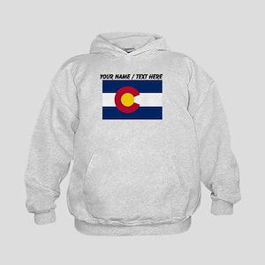 Custom Colorado State Flag Hoodie