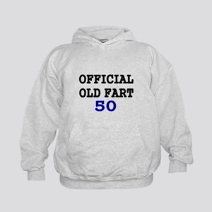 OFFICIAL OLD FART 50 Hoodie
