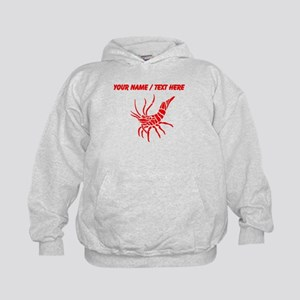Personalized Red Shrimp Hoodie