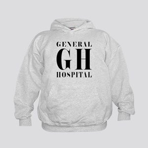 General Hospital Black Kids Hoodie