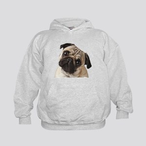 Pug Oil Painting Face Sweatshirt