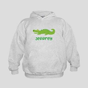 Personalized Crocodile Alligator Kids Hoodie