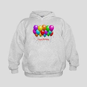 Happy Birthday Balloons Hoodie