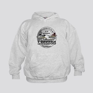 A-37 Dragonfly Aircraft Kids Hoodie