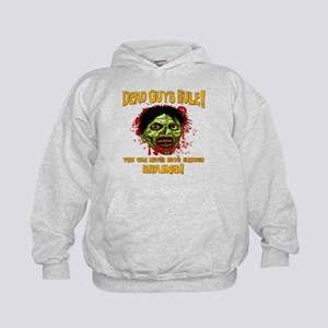 Dead Guys Rule - Brains! Kids Hoodie